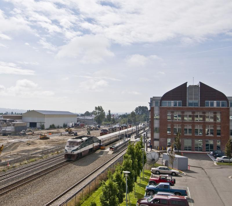 Everett Amtrak Cascades Station