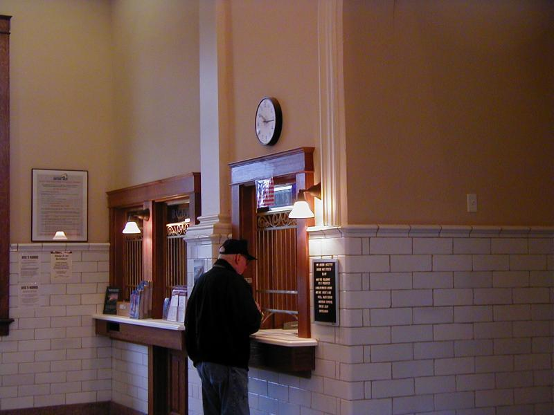 Ticket window